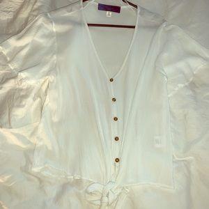 Francesca's button up blouse